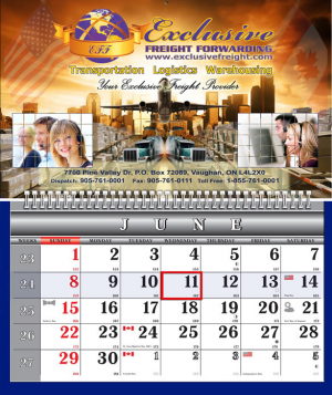 One Wire Wall Calendars
