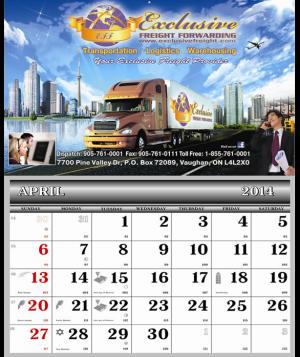 Twelve Pictures Calendars