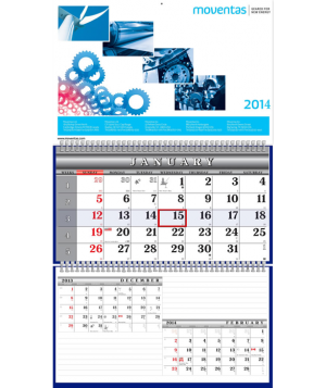 Two Wire Wall Calendars